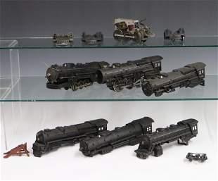 6 Lionel Locomotives