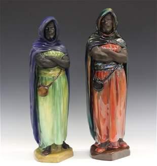 2 Royal Doulton Porcelain Figures