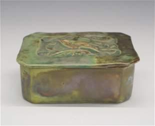 Pewabic Pottery Covered Box