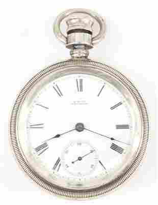 AWW Co. Wm Ellery Pocket Watch