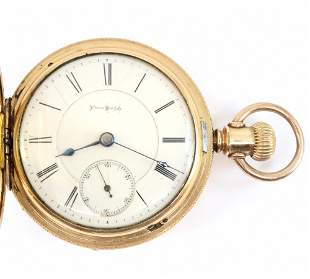 Illinois Bunn Pocket Watch