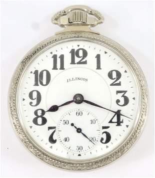Illinois Bunn Special Railroad Watch