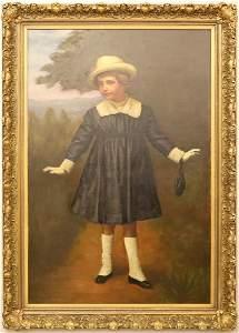 American Oil Portrait