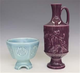2 Rookwood Art Pottery Pieces