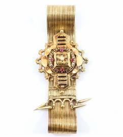 Edwardian 14k Gold Bracelet