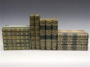 14 Leather Bound Books