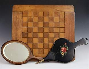 3 Woodenware Items