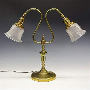 Two Arm Table Lamp