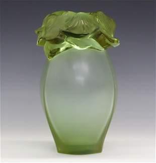 Lalique Barth Vase