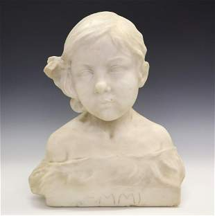 H Unger Marble Bust