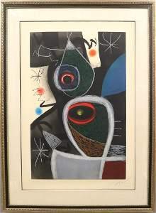 Joan Miro Etching - Le Somnambule