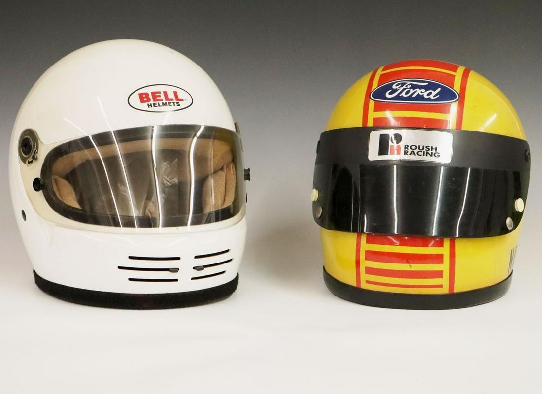 2 Bell  Helmets