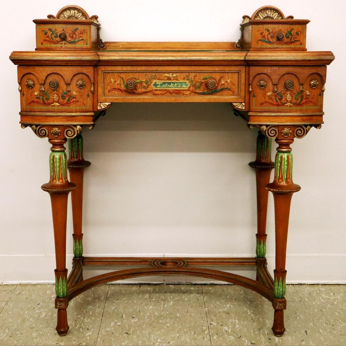 American Mahogany Dressing Table