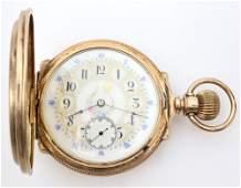 Elgin 18k Gold Pocket Watch
