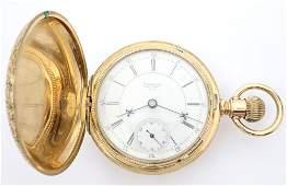 AWW Co 14k Multi Gold Pocket Watch