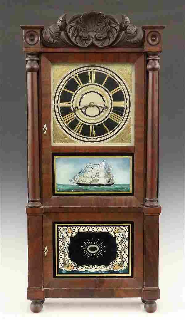 C & N Jerome Double Decker Shelf Clock