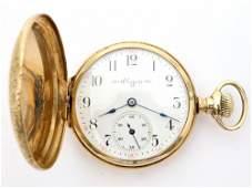 Elgin 14k Gold Ladies Watch