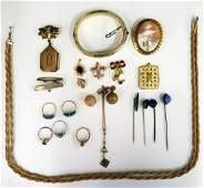 Collection of Gold Filled Jewelry