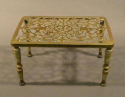 1: Brass Trivet