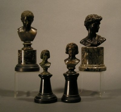 5: Four Small Busts