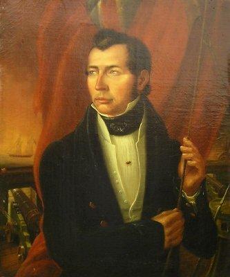 15: Portrait Capt Chambley o/c