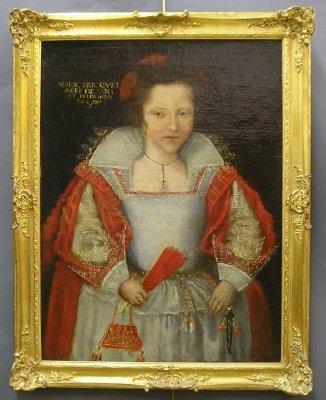 20: Portrait of Marie Bricquet o/c