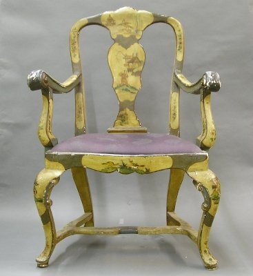 22: Rococo Armchair