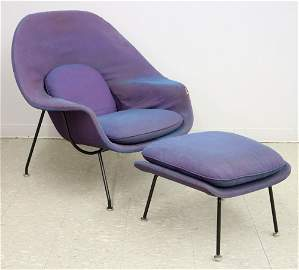 Saarinen Womb Chair & Ottoman