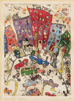 James Rizzi Monoprint