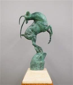 Marshall Fredericks Leaping Gazelle Sculpture