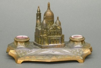 6: Architectural inkwell
