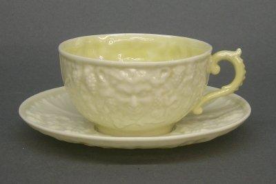 10: Belleek cup and saucer