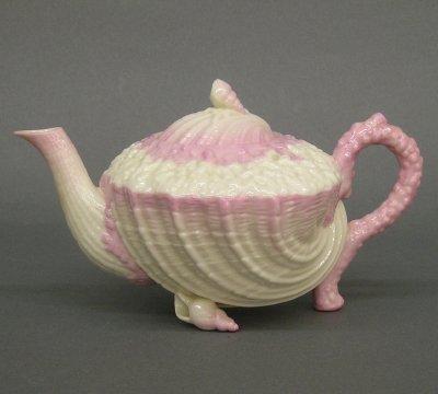 16: Belleek Teapot