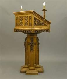 75: Gothic pulpit