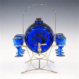 Cobalt Blue Drinks Set