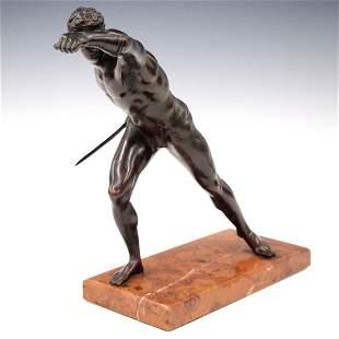 Bronze Borghese Gladiator