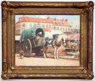 F.R. Green Market Scene