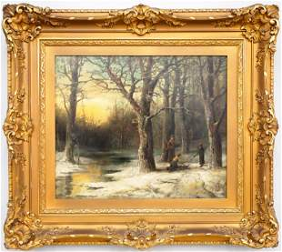 H. A. Duessel Winter Landscape