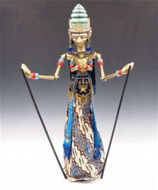Indonesian Wayan Golek Puppet