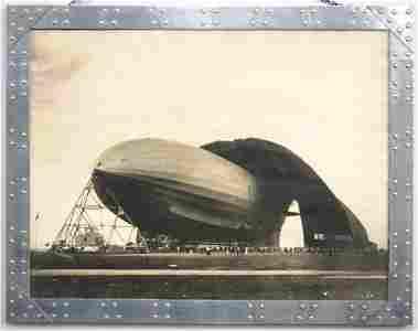 Margaret Bourke-White Zeppelin Photograph