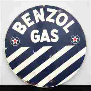 Benzol Gas Sign
