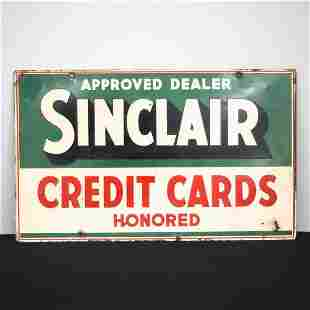 Sinclair Filling Station Sign