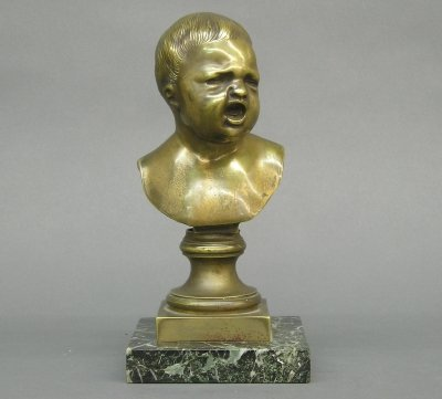 15: Bronze bust of a Child