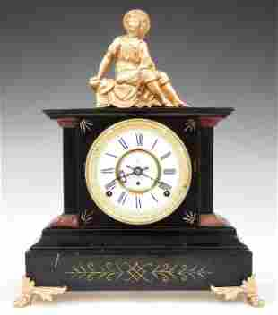 Kroeber Bulgaria Cast Iron Shelf Clock