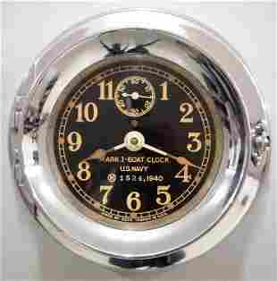 Seth Thomas Mark I Boat Clock