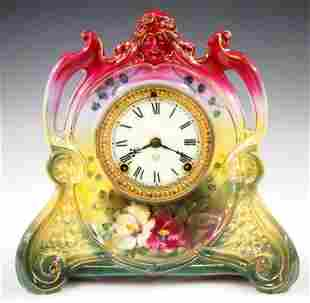 Ansonia La Chapelle China Shelf Clock
