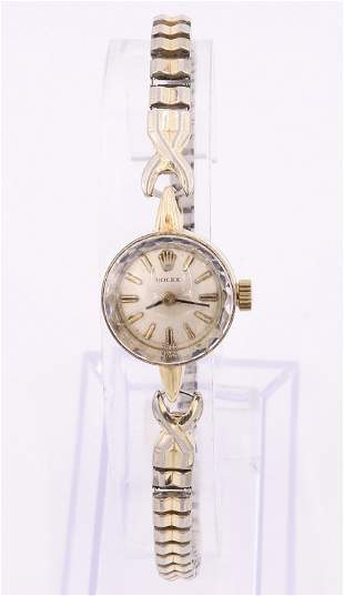 Rolex 14k Ladies Wristwatch