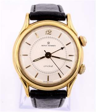 18k Revue Thommen Alarm Wristwatch
