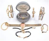 11 Vintage Ladies Wristwatches