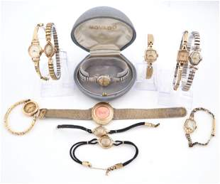 11 Vintage Ladies Wristwatches